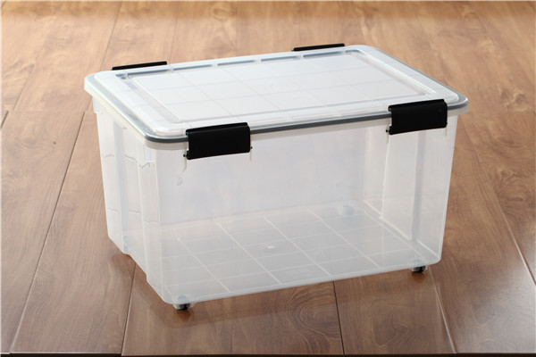 Plastic sealed storage container 60L