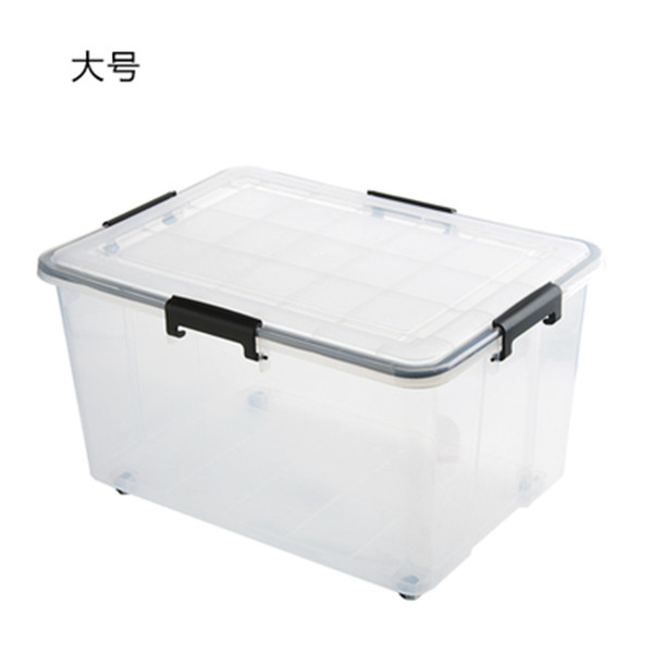 Plastic sealed storage container 45L